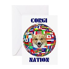 CorgiNation1A Greeting Card