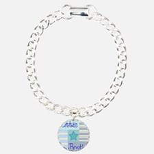 little brother copy Charm Bracelet, One Charm