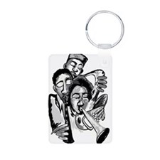 TOOT YOUR OWN HORN Aluminum Photo Keychain