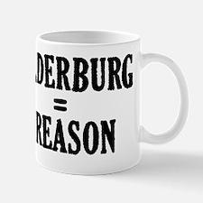 Bilderburg equals Treason 1 dk Mug