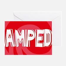 Amped38O Greeting Card