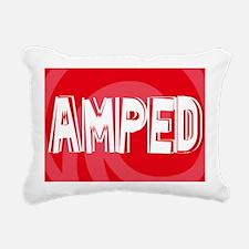 Amped38O Rectangular Canvas Pillow