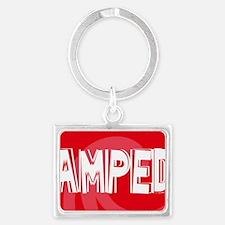 Amped38O Landscape Keychain