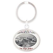 VIRGINIAPARK Oval Keychain