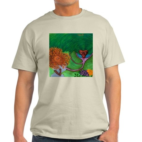 Seduction of the earth Ash Grey T-Shirt
