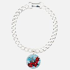 hummingbird_VHQ Charm Bracelet, One Charm