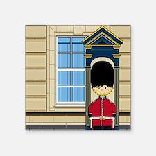 "Royal Guard Pad4 Square Sticker 3"" x 3"""