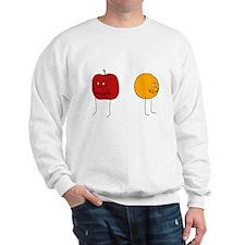 Apples and Oranges Sweatshirt