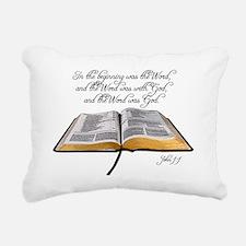 thebible_John1_1 Rectangular Canvas Pillow