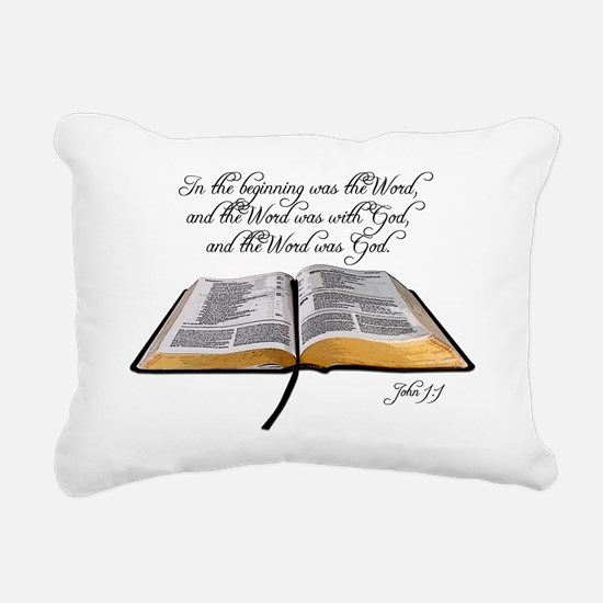 thebible_John1_1 Rectangular Canvas Pillow