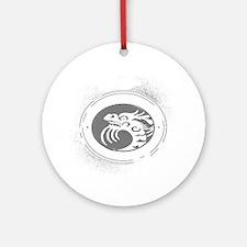 kung fu san soo 1 Round Ornament