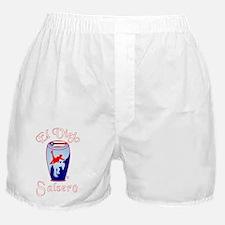 ElPRViejoRWBTrans WHT RED LTRS FOR DA Boxer Shorts