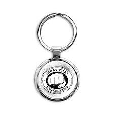 muay thai 3 Round Keychain