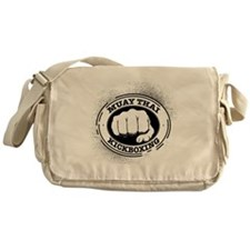 muay thai 3 Messenger Bag