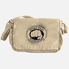 muay thai 3 Messenger Bag