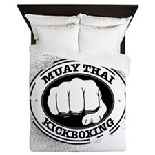 muay thai 3 Queen Duvet