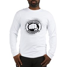 muay thai 3 Long Sleeve T-Shirt