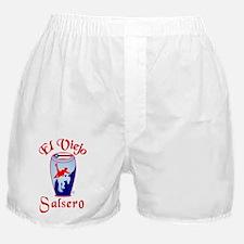 ElPRViejoRWB RED heart LTRS FOR Light Boxer Shorts