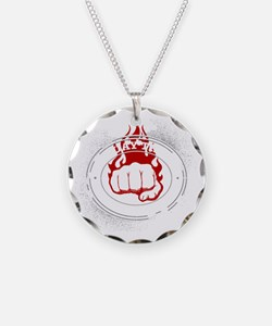muay thai 2 Necklace