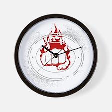 muay thai 2 Wall Clock