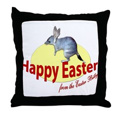 Easter Bilby Gifts, Throw Pillow