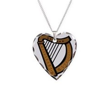 celtic_harp_coloring_book_col Necklace Heart Charm