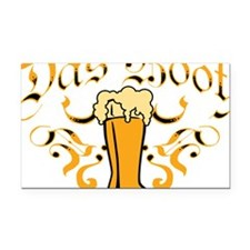 Das Boot Of Beer Rectangle Car Magnet