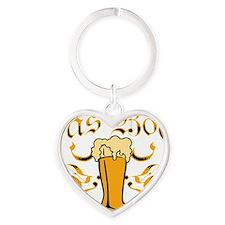 Das Boot Of Beer Heart Keychain
