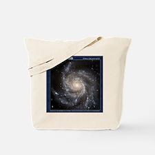 CD-TileBox-Spiral Galaxy M101 Tote Bag