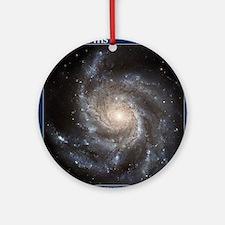 CD-TileBox-Spiral Galaxy M101 Round Ornament