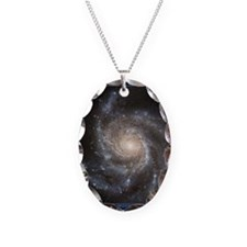 CD-TileBox-Spiral Galaxy M101 Necklace