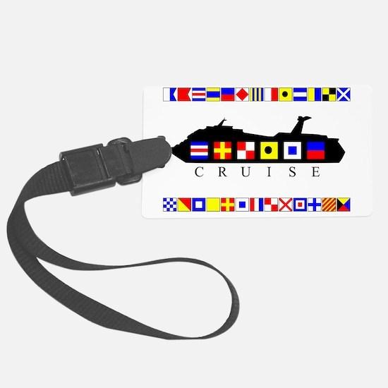 CRUISE-Signal-Flag Luggage Tag