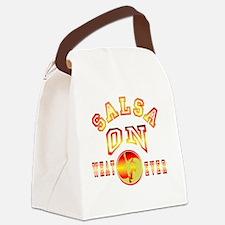 Salsa OnWhatever yinyang gradient Canvas Lunch Bag