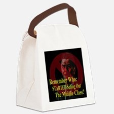 Reagan SellOut MiddleClass 2 Canvas Lunch Bag