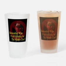 Reagan SellOut MiddleClass 2 Drinking Glass