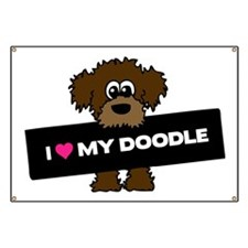 Love My Labradoodle Banner