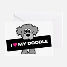Love My Labradoodle Greeting Card