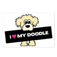 Love My Labradoodle Postcards (Package of 8)