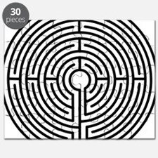 medieval labyrinth symbol icon Puzzle