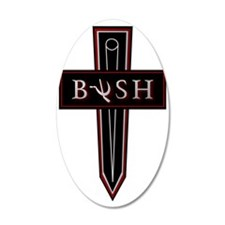 Bush Shoulder Patch - 300DPI Wall Decal