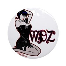 pinup Round Ornament