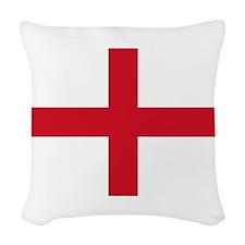 England-Multi_Dark Woven Throw Pillow
