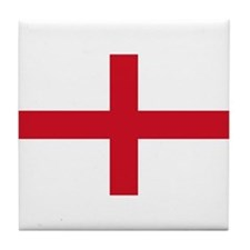 England-Multi_Dark Tile Coaster