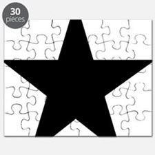 black-star-pentagram Puzzle