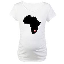 Africa red heart Shirt