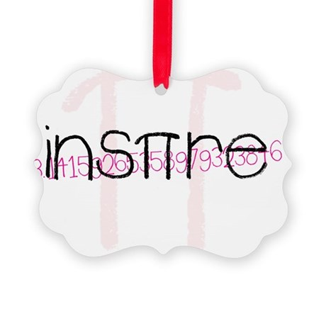 Pink Inspire 2 Picture Ornament