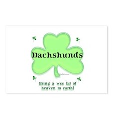 Dachshund Heaven Postcards (Package of 8)