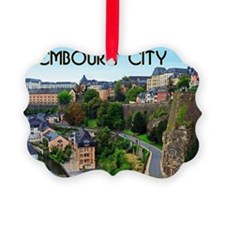 Luxembourg City Ornament