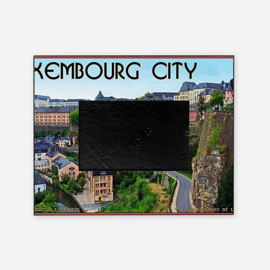 Luxembourg City Picture Frame