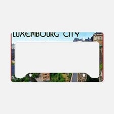 Luxembourg City License Plate Holder